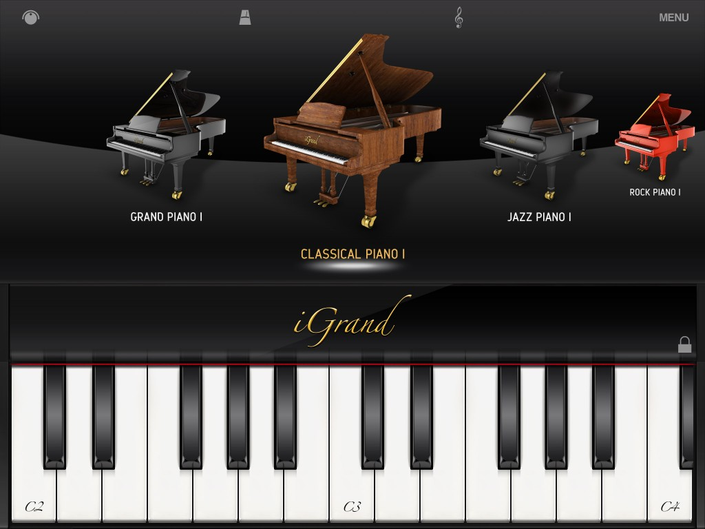 iGrand probably offers the best sample-based acoustic piano sounds currently available under iOS