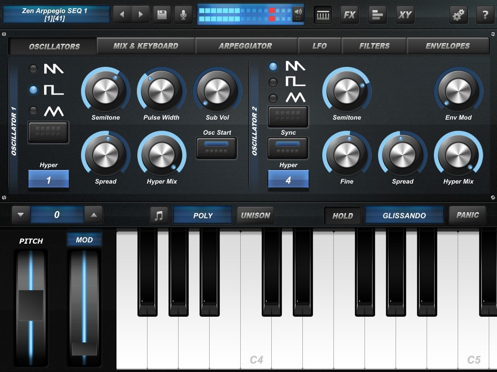 Arctic ProSynth - easy to program and sounds great.