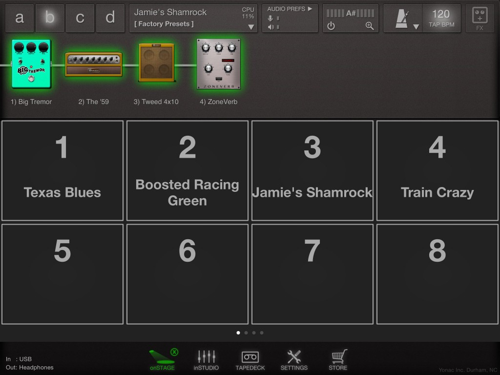 The onStage mode and MIDI support will be great for live users.