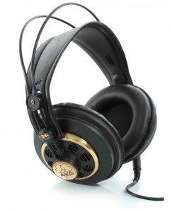 AKG's K240 headphones are also highly regarded for studio use.