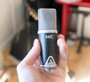 The Apogee Mic 96k; not the cheapest 'direct connect' option but this is a classy performer and very portable.