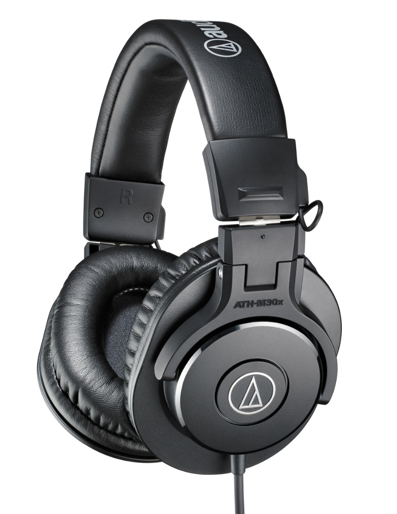 The Audio Technica ATH-M30's still perform pretty well at about half the price of the M50s.