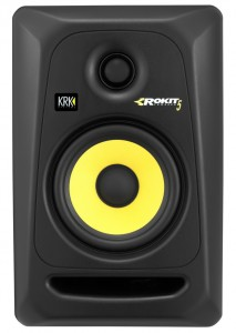 KRK make a range of highly regarded nearfield monitors in sizes suitable for all sorts of studio spaces. The RoKit G3's are a good starting point in a smaller studio space - although do make sure you buy a pair :-)