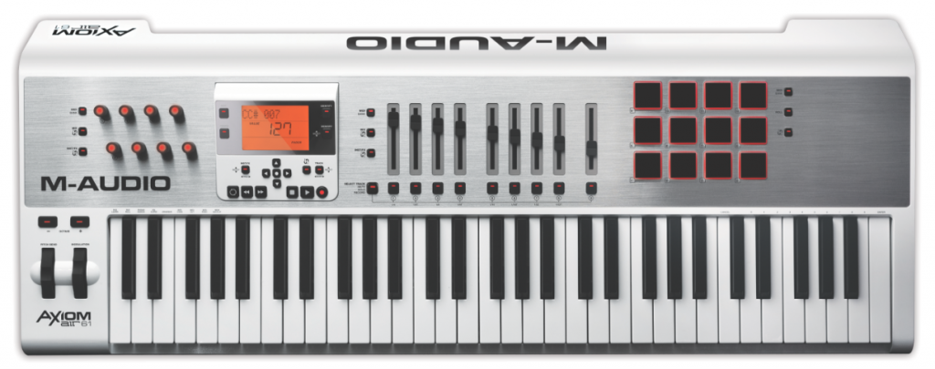 M-Audio's Axion range - not the cheapest MIDI keyboards you might buy but they have a range of impressive features.
