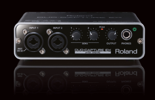 Roland's Duo Capture EX; audio+MIDI interface that works with both the desktop and with iOS.