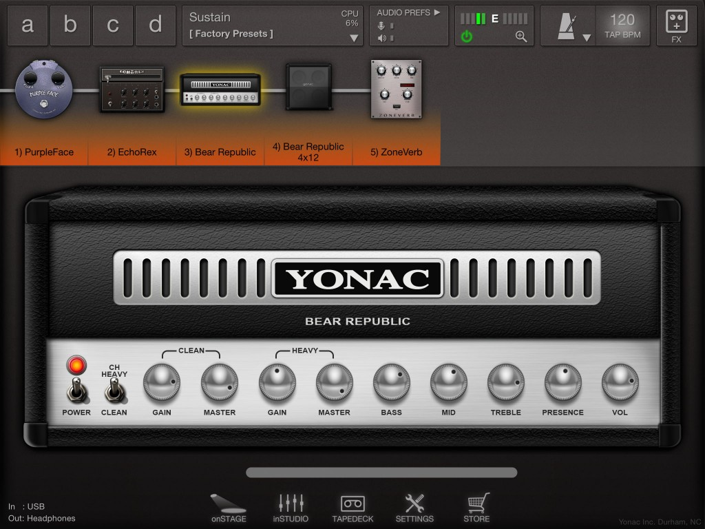ToneStack; a lot of guitar tone in a very modestly prices package.