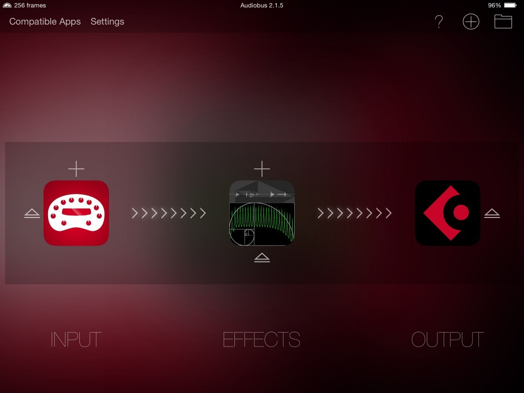 apeFilter included both Audiobus and IAA support and is also ready to roll with iOS8.