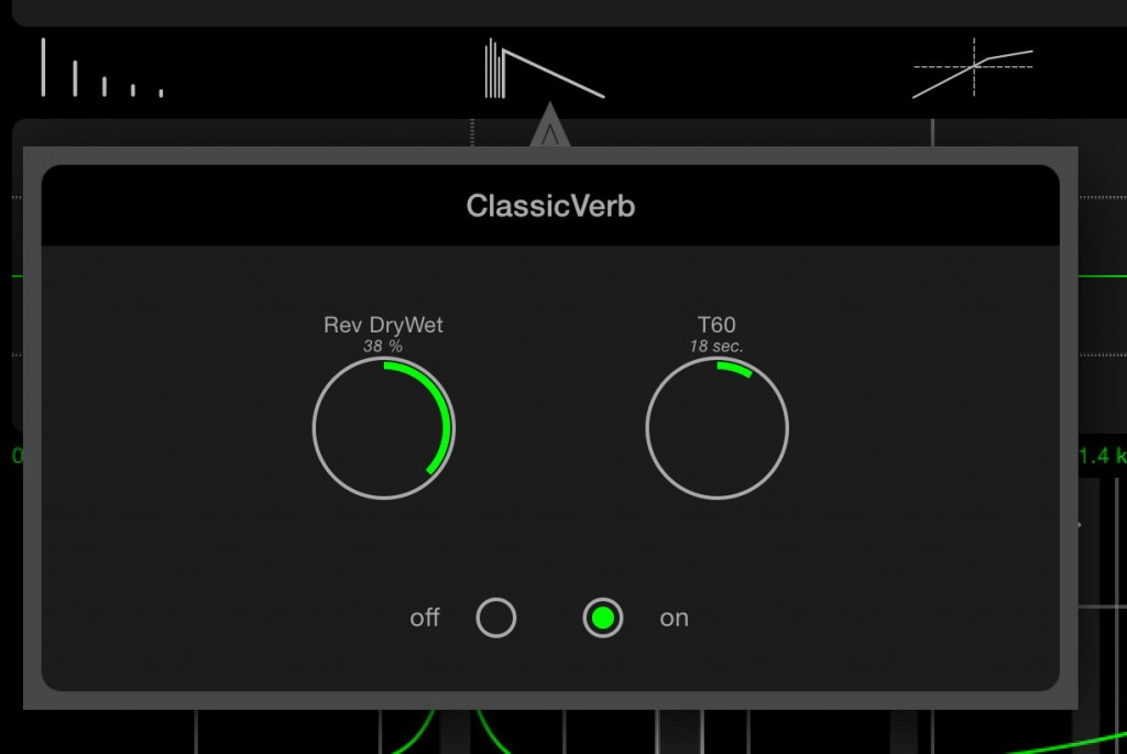 The three additional effects - delay, reverb and compression/expansion - are all very useable.