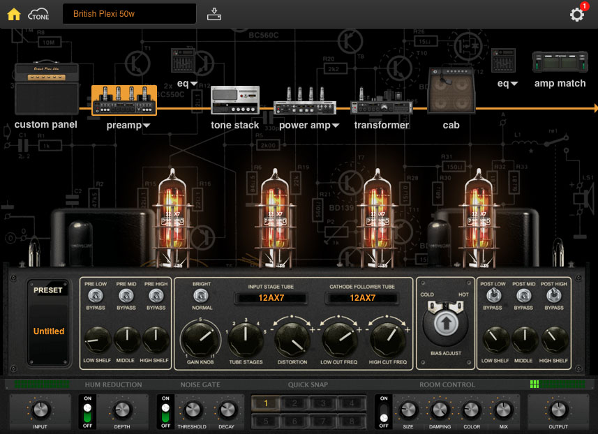 Of course, the real fun with BIAS Amp is being able to create your own amp models....