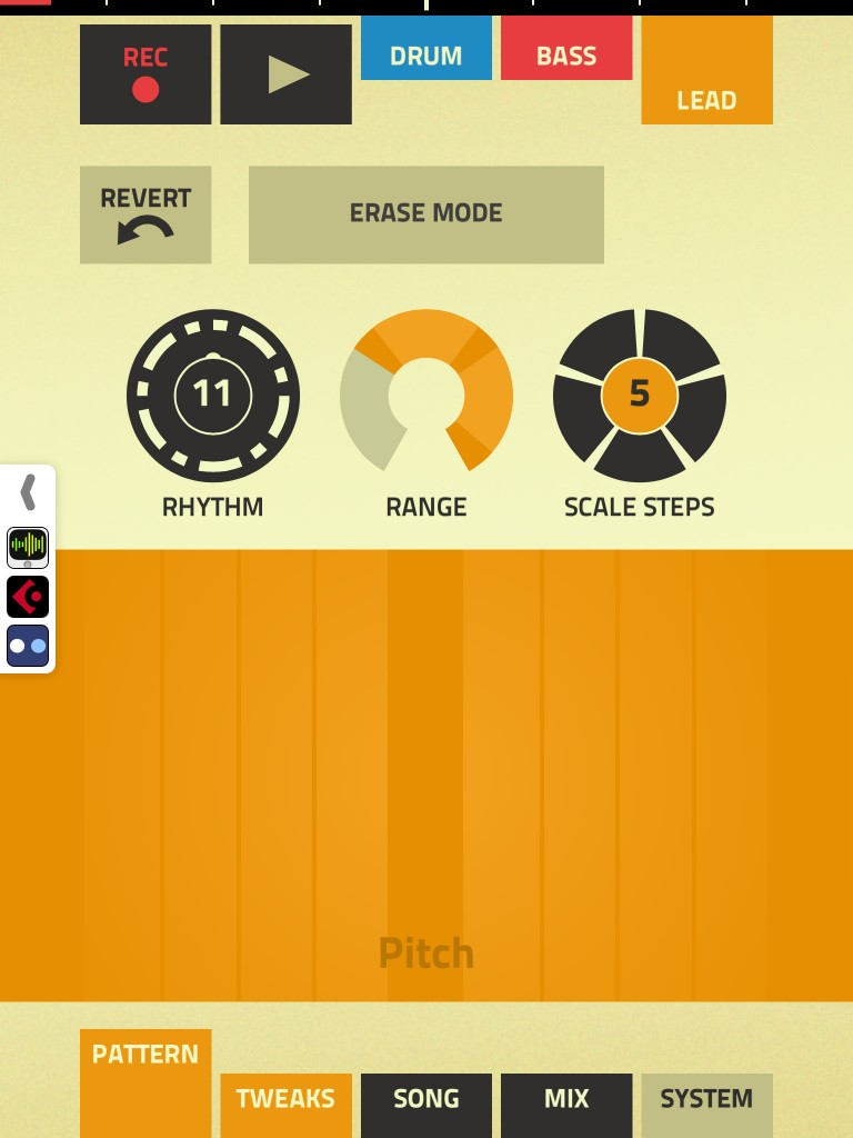 Figure; simple but brilliant and an absolute iOS music app classic at UK£0.69.