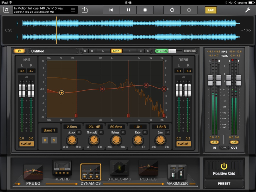 Final Touch is very well featured but, like all mastering software, there is both art and science in its use.