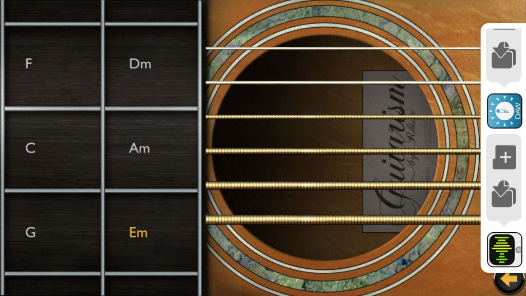 Guitarism; instantly playable guitar chords for your iOS device.