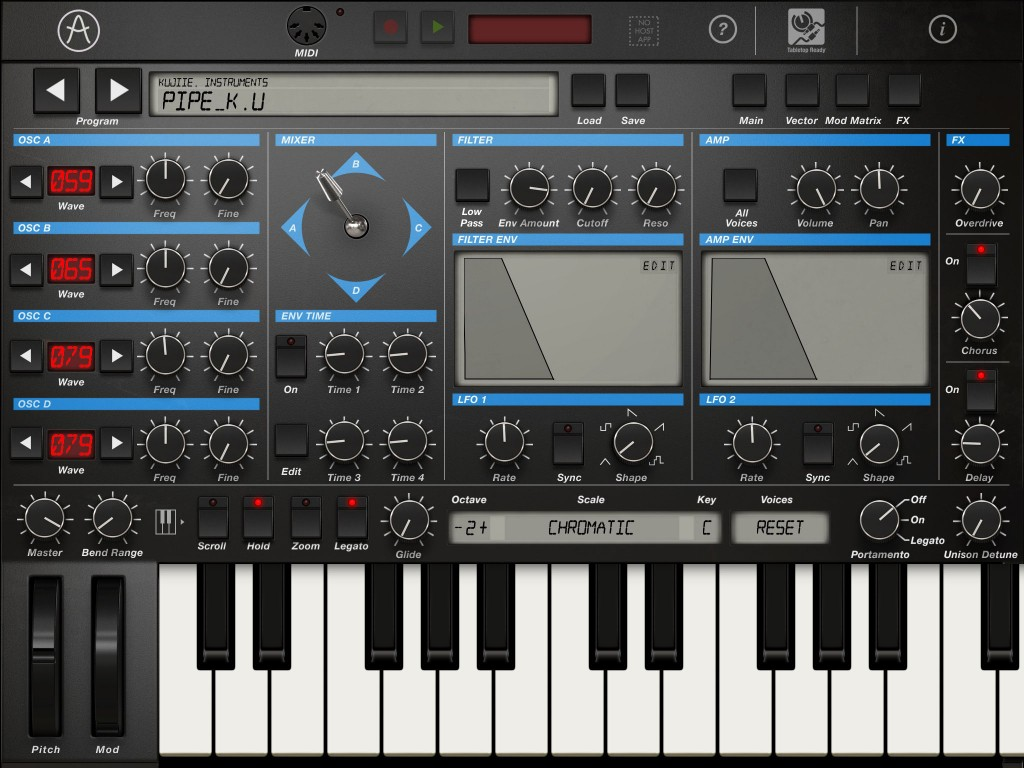 Arturia's iProphet iOS synth is unbelievably good given the pocket money price