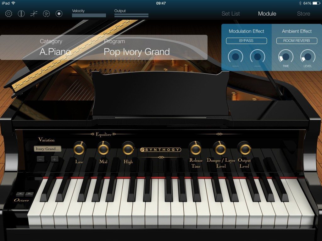 Korg Module; best in class for acoustic and electric pianos under iOS?