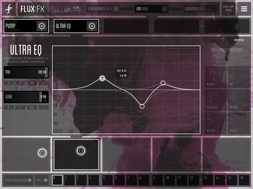 Even the more conventional effects - such as the Ultra EQ - are very well featured.