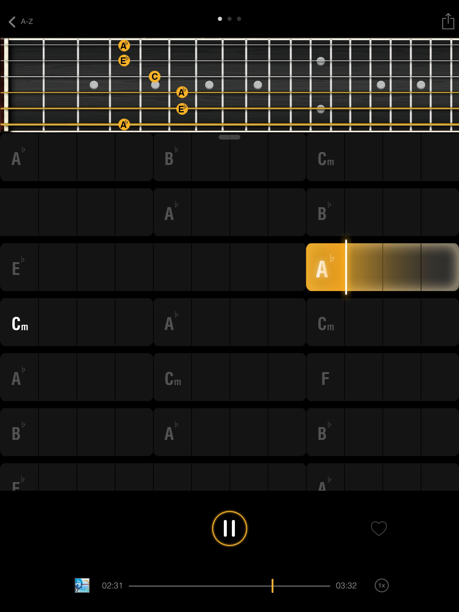 Jamn Player Update Miq Add Features To Their Chord Analysis From