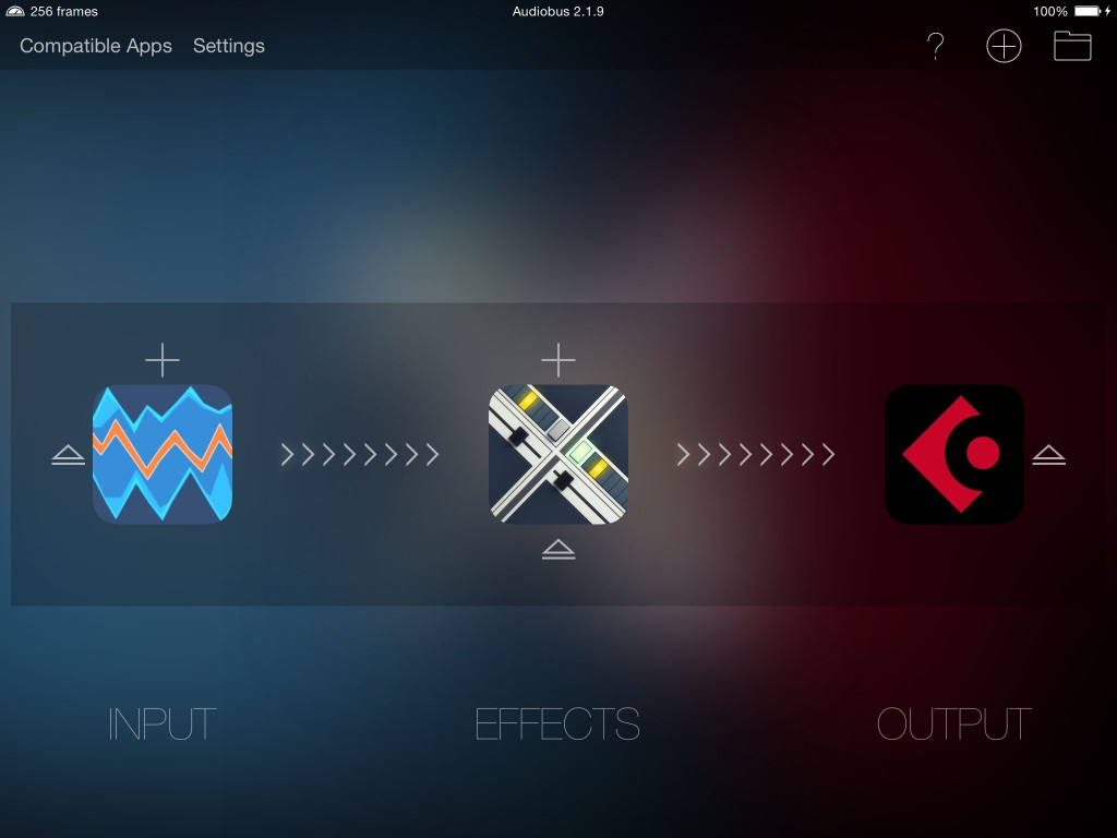 SoundScaper in Audiobus...  how mad do you want things to get? :-)