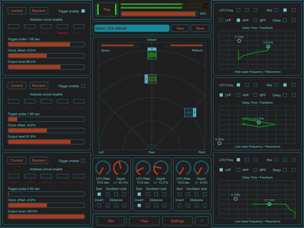 SoundScaper - experimental sound design in an app.