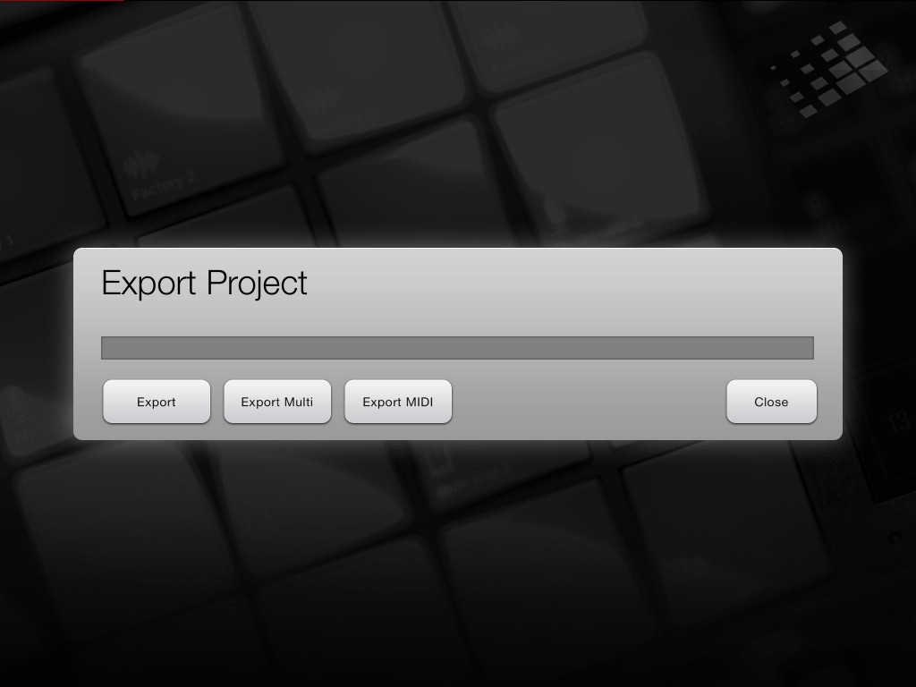 You get plenty of flexibility when it comes to export options from BeatHawk.
