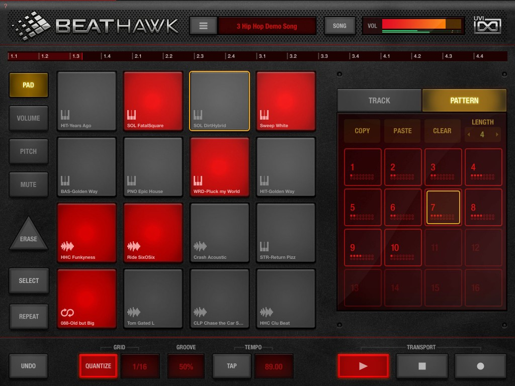 BeatHawk; well-designed and streamlined workflow for sample-based music production.