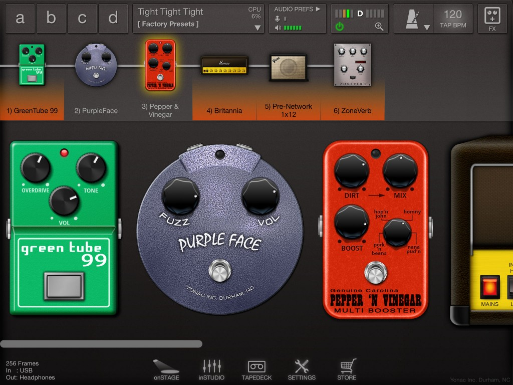 In v.2, all ToneStack's fuzz, overdrive and distortion effects have been reworked for better sound.