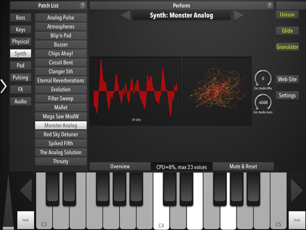 Zed Synth - something different for iOS synth collectors in an ever more competitive market?