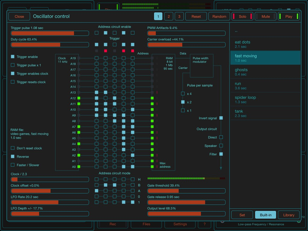 The SoundScaper advanced control panel has had a few very useful additional features added.