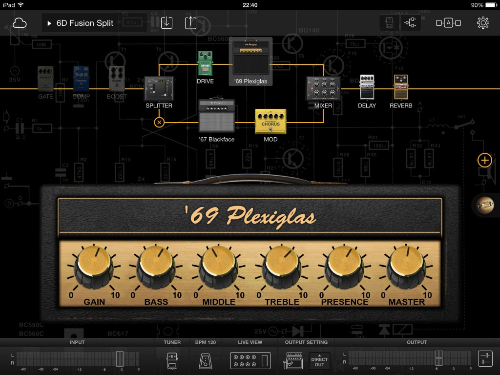 BIAS FX offers flexible signal chains including a dual chain option.