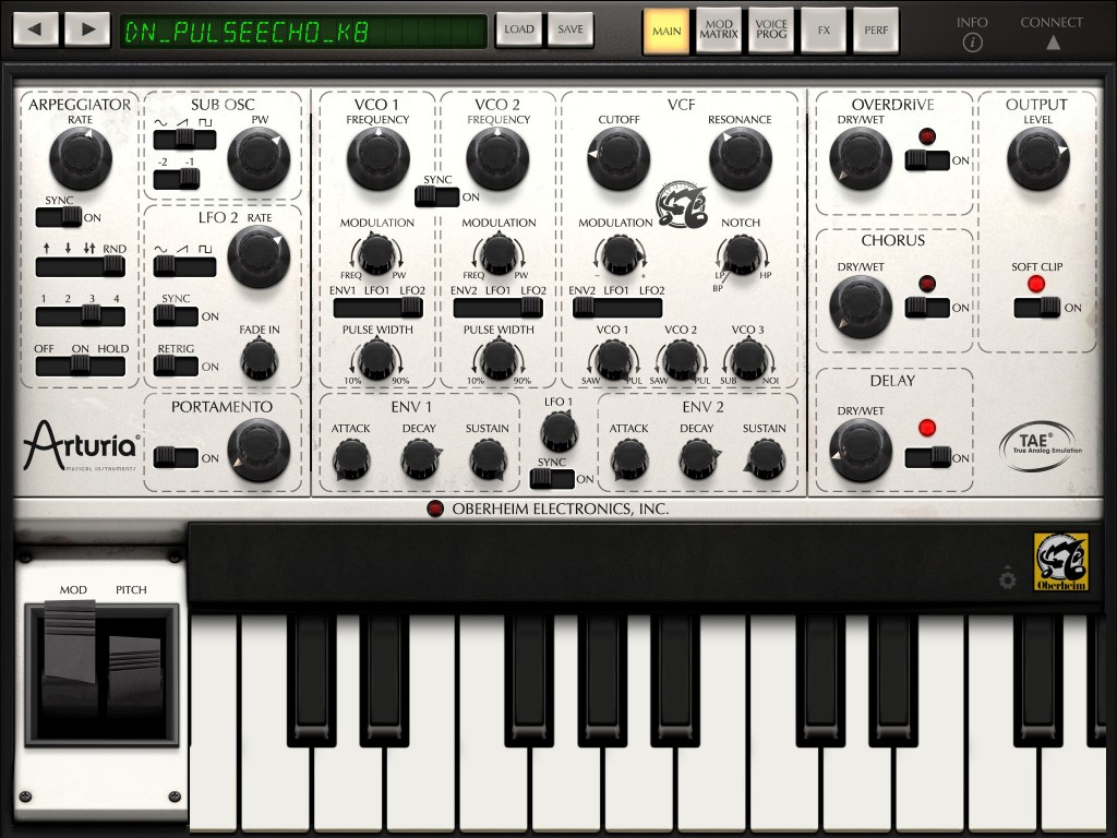 ISEM includes a basic - but very useable - arpeggiator function.