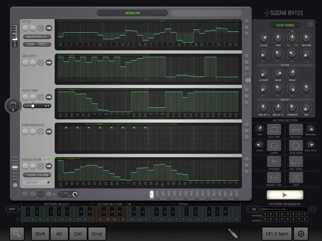 Thesys - not for the faint-hearted but a it is very powerful step/pattern sequencer.