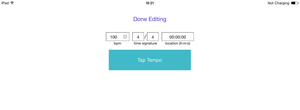 Midibus now offers a Tap tempo options for tempo setting.