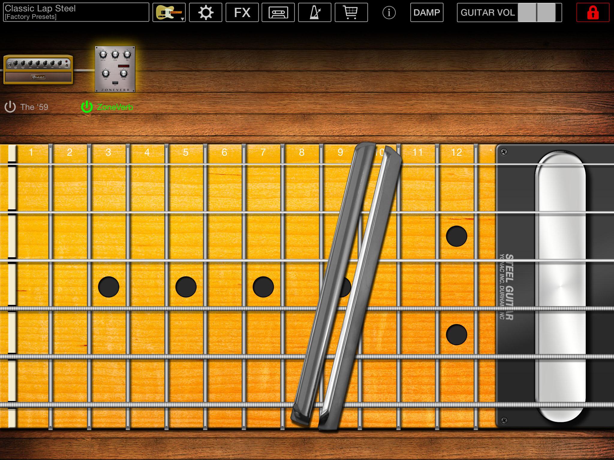 Steel Guitar Review Pedal Steel Guitar App From Yonac Gets A