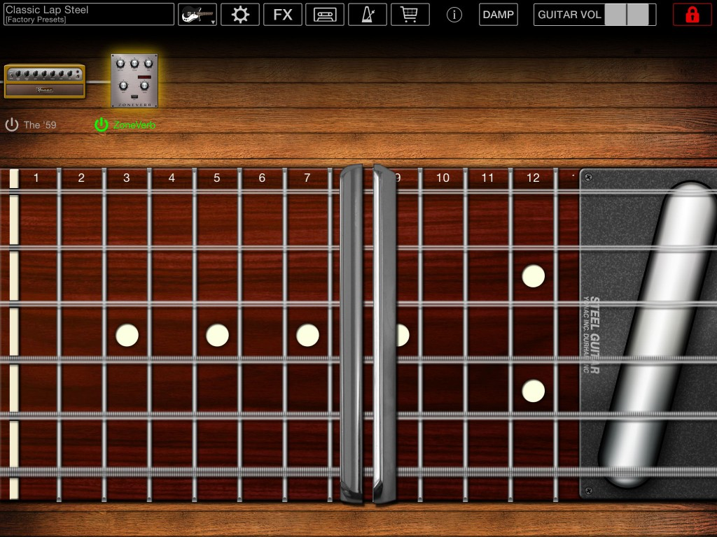 Steel Guitar - Yonac bring their lap/pedal steel app up to date.
