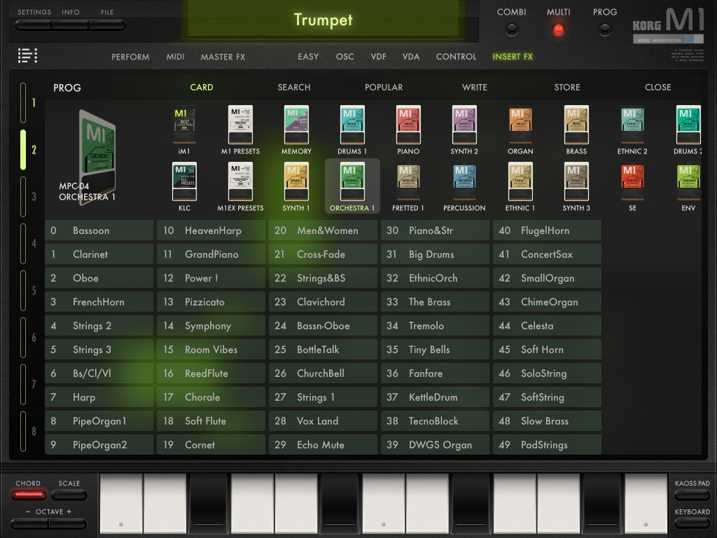 Just how many presets do you need? iM1, with both IAPs, is seriously well stocked with sounds.