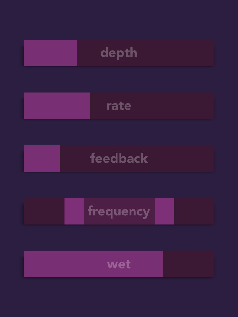 Phlox Phaser - a simple, but effect, modulation effect app.