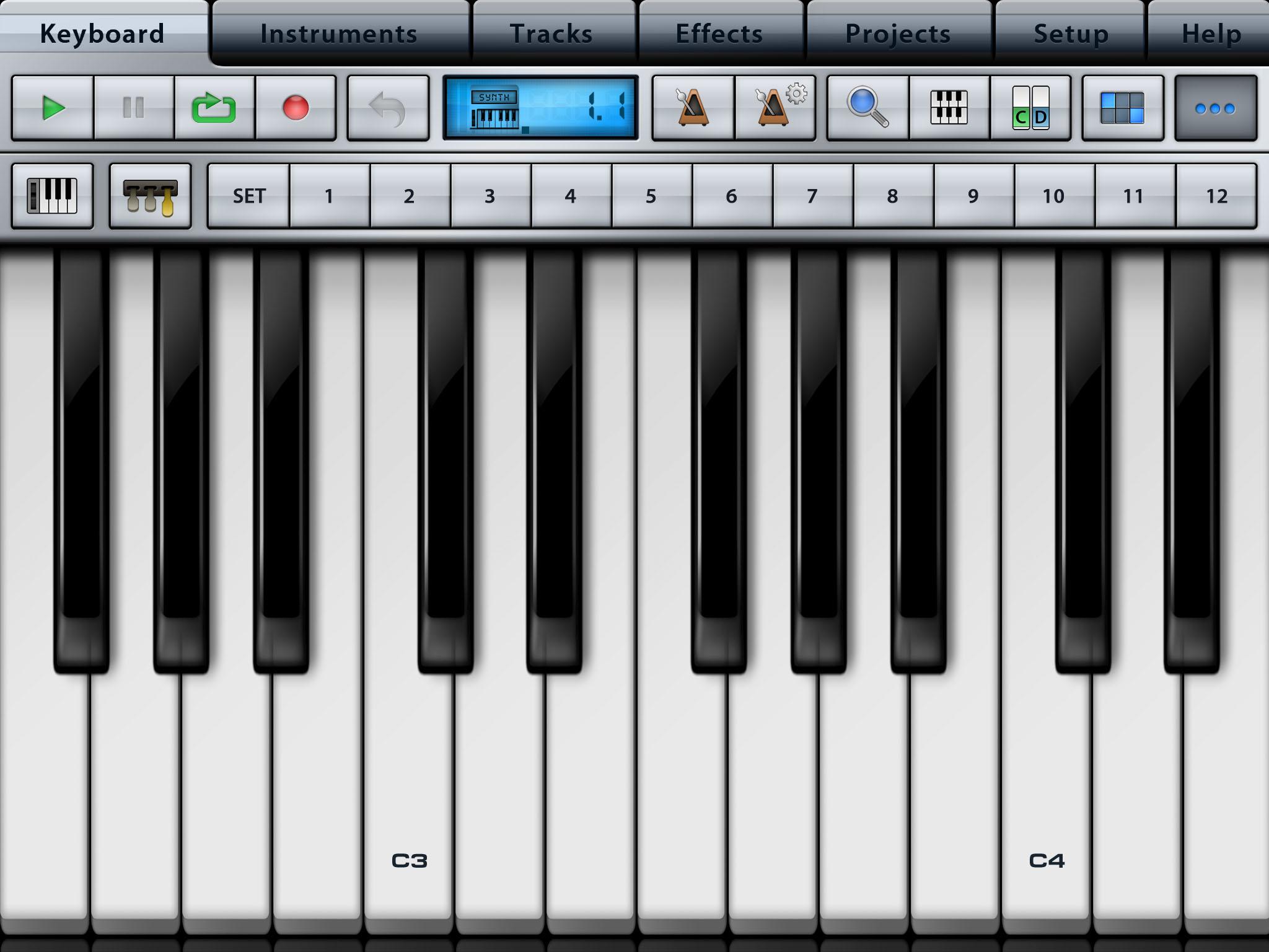 keyboard music app