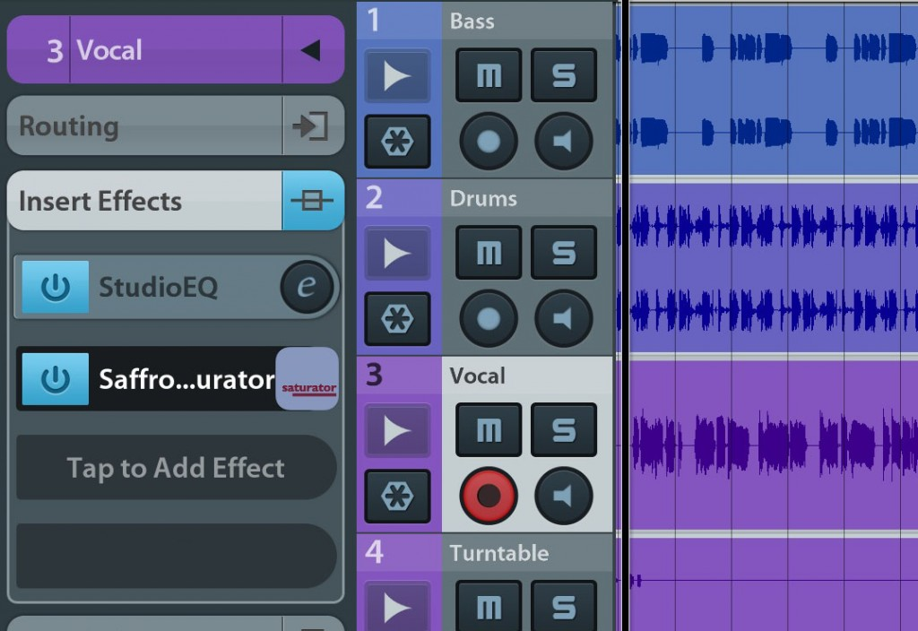 I had no problems using the app via IAA within Cubasis and it can do useful things with all sorts of audio sources.