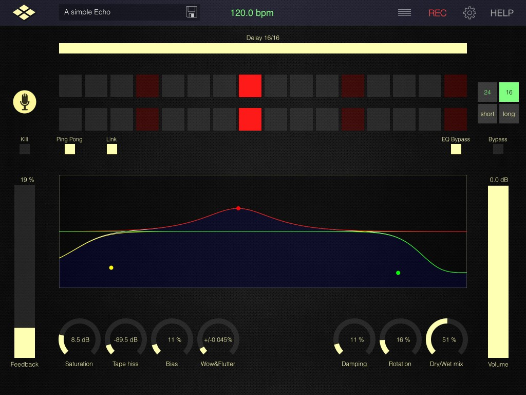 Tap Delay - flexible delay patterns and tape emulation in a very neat app format.