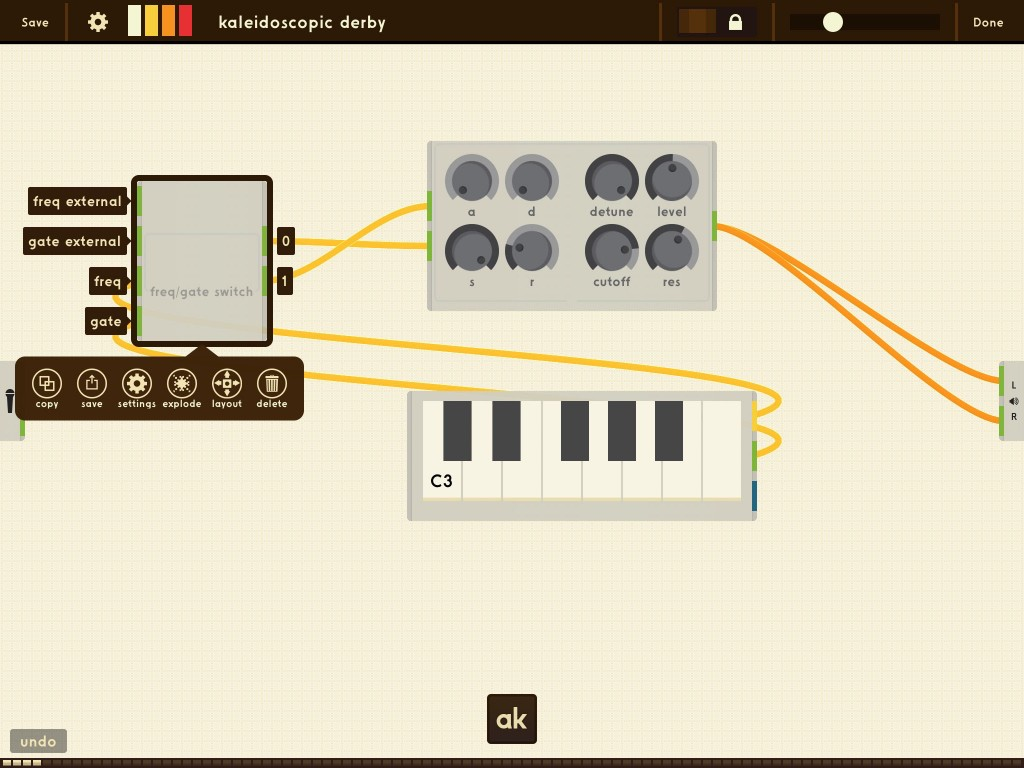 AnalogKit - design your own synth or audio effects within an app.
