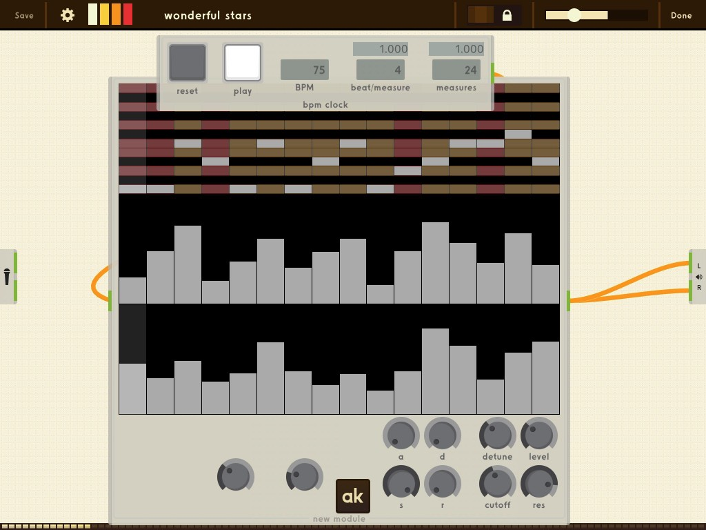AnalogKit includes a Grid Seq component for creating step sequencers.