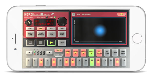 Despite The Modest IPhone Screen Sizes Compared To IPad IElectribe Seems Have Survived