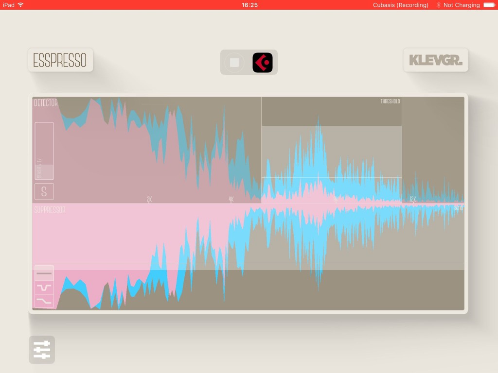 'All' mode applied compression to the entire frequency range.....