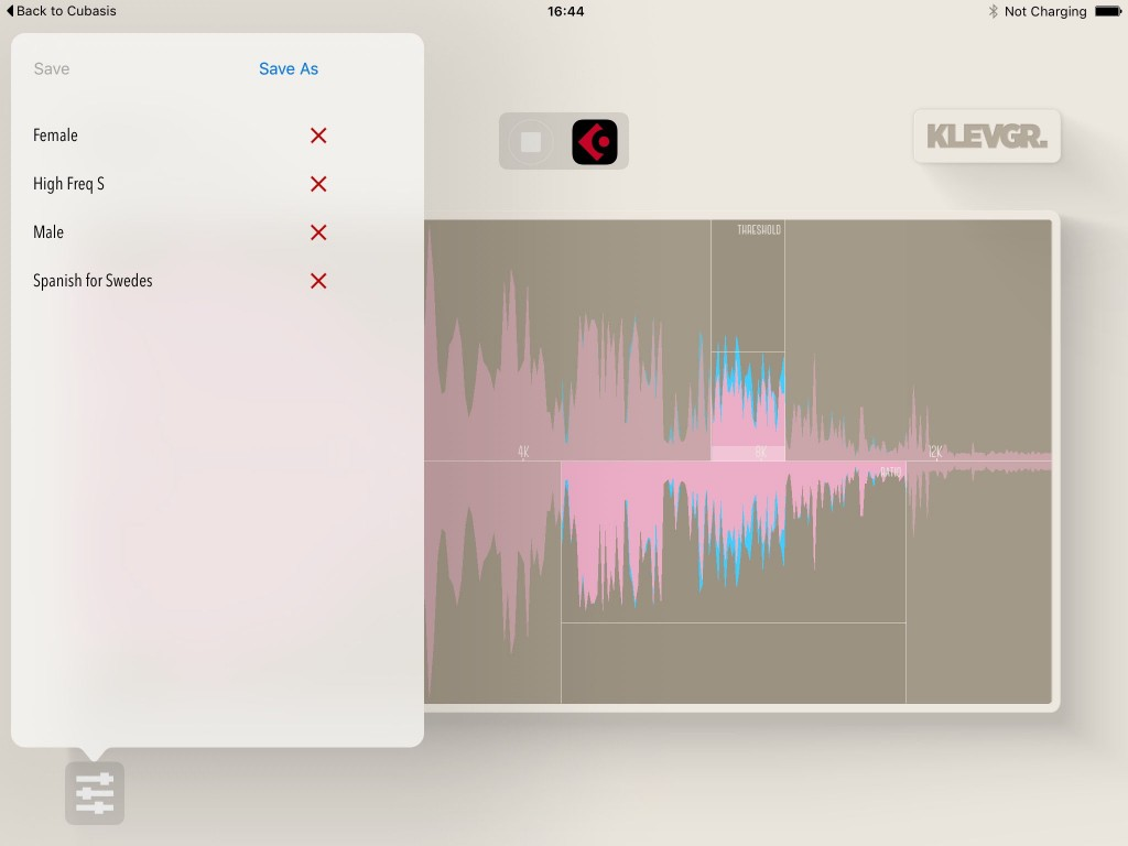 The app is supplied with a few presets to get you started but, once you have a grasp of the clever control set, it is very easy to configure and fine-tune for your specific vocal track.