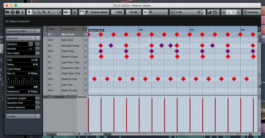 The Drum Editor environment in Cubase is something I'd love to see ported over to Cubasis under iOS.