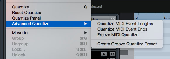 On the desktop, Cubase offers the very creative 'groove quantize' feature.