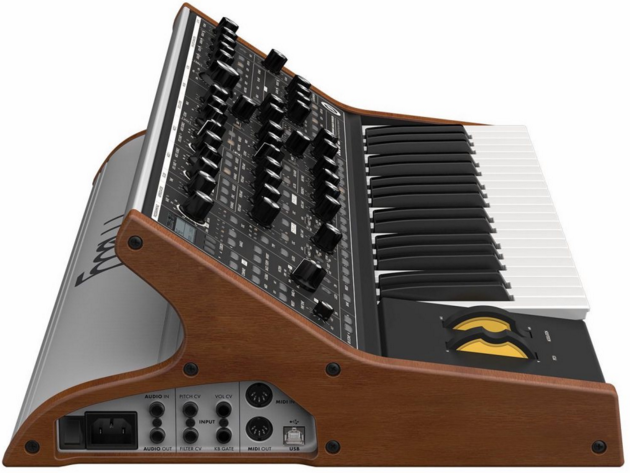 It's not so long ago that the majority of MIDI instruments were actual hardware; computers were simply not up to the task or running 'virtual' instruments.