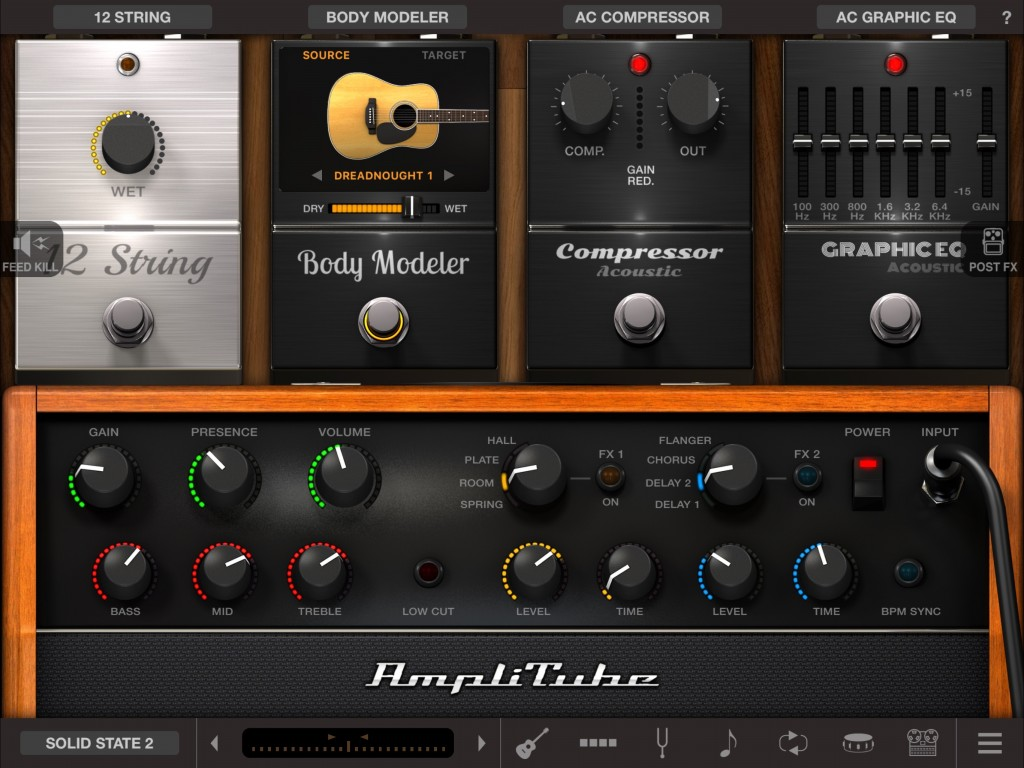AmpliTube acoustic - the IKM AmpliTube brand but themed for the acoustic player.
