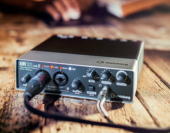 The new UR22 mkII interface from Steinberg.