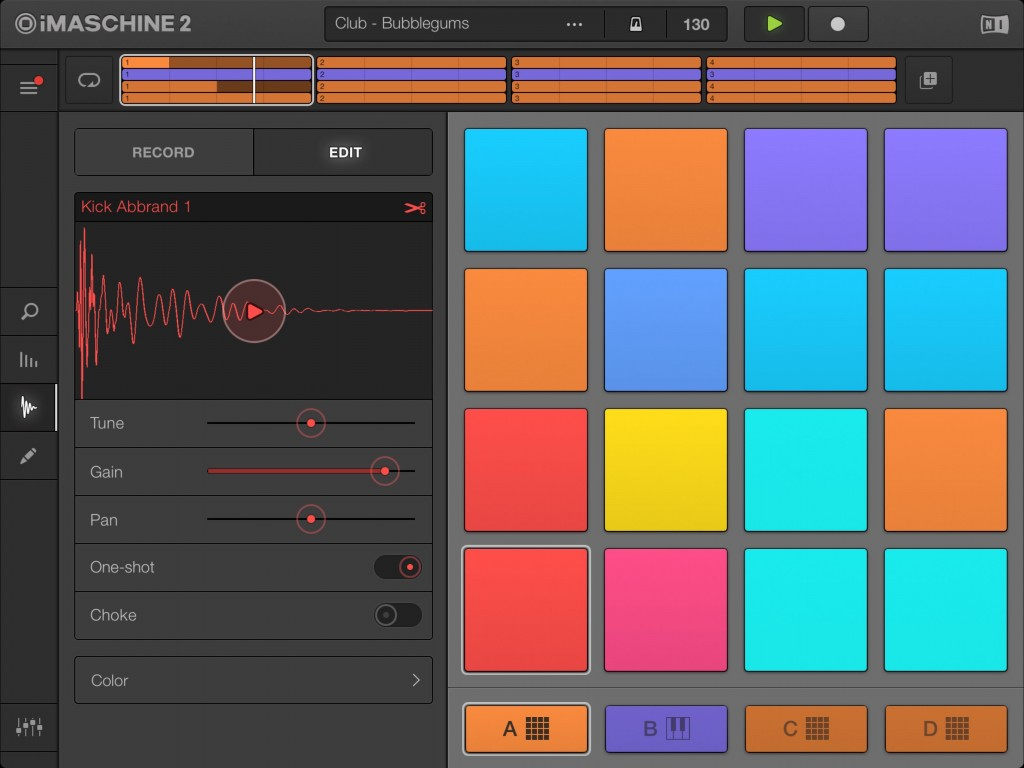 All the original features of iMaschine 1 - including the option for creating and importing your own samples - are retained in iMaschine 2.