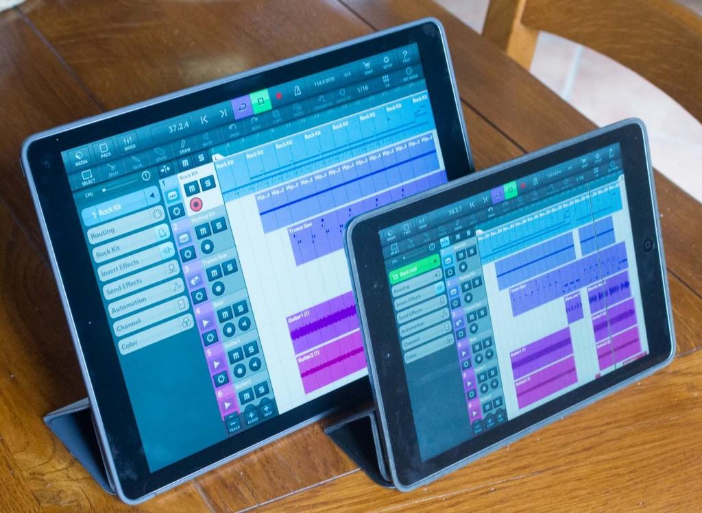 The new iPad Pro beside my iPad Air 1.... er... it's bigger :-)